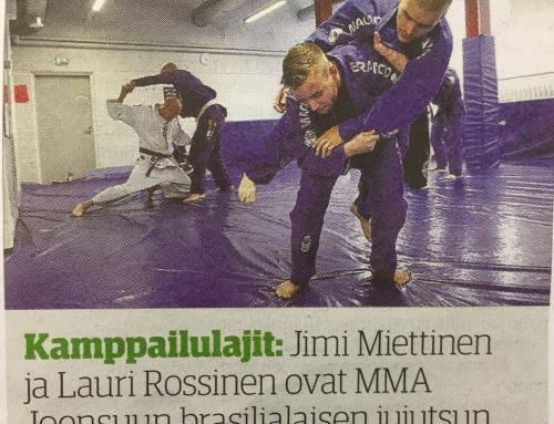 MMA Joensuun BJJ kasvattaa suosiotaan